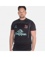 Men's Ulster Rugby Performance Athletic Fit Tee - Black (2017-2018)