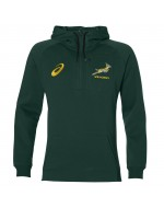 South Africa Springbok Rugby 1/4 Zip Travel Hoody (2017)