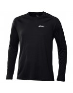 Crew Neck Top LS (Black)