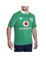 Ireland CLASSIC Home Rugby Shirt - Bosphorus Green (2016-2017)