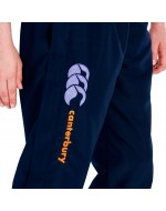 Girl's Open Hem Stadium Pants (Navy/Purple/Orange)