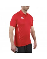 Team Dry Polo Shirt - Flag Red