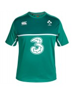 Ireland Rugby Poly Training Tee - Bosphorus Green (2015-2016)