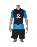 Ireland Rugby Vapodri Superlight Poly Tee - Electric Blue Lemonade (2017-2018)