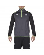 Ireland Rugby IRFU Thermoreg 1/4 Zip Top - Asphalt (2017-2018)