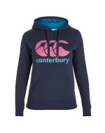 Woman's Classic OTH Hoody - Navy/Rose Violet