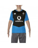 Kid's Ireland Rugby Vapodri Superlight Poly Tee - Electric Blue Lemonade (2017-2018)