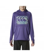 Girl's Poly Fleece Over-Head Hoody (Purple Opulence Marl)