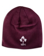 Ireland Rugby Acrylic Plain Beanie - Irish Plum (2016-2017)