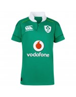 Ireland PRO Teen's Home Rugby Shirt - Bosphorus Green  (2016-2017)