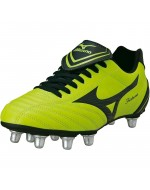 Fortuna 4 Rugby Boots SG (Lime/Black)