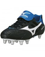 Timaru Rugby Boots (Black/White/Blue)