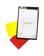 Referee's Notebook with Cards & Pencil