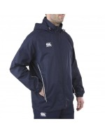 Team Full Zip Rain Jacket  - Navy
