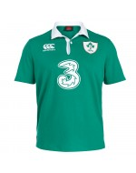 Ireland Home Classic Rugby Shirt - Bosphorus Green (2015-2016)