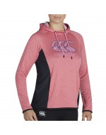 Women's Poly Fleece OTH Hoody (Azalea Marl)