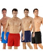 "Men's 16"" Solid Leisure Swim Shorts"