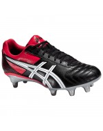 Lethal Tackle Rugby Boots (Black/Racing Red)