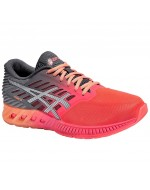 fuzeX (Womens) Cushioned Running Shoes (Diva Pink/Carbon)