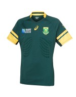 Adult South Africa Springbok RWC 2015 TEST Home Rugby Shirt