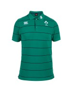 Ireland Rugby Stripe Polo - Bosphorus Green (2015-2016)