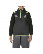 Kid's Ireland Rugby IRFU Thermoreg 1/4 Zip Top - Asphalt (2017-2018)