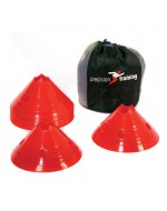 Giant Saucer Cone Set (20 Red Cones)
