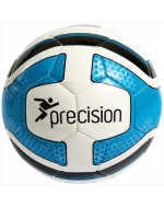 Santos Training Ball (White/Cyan Blue/Black)