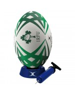 Ireland Rugby Starter Pack (Ball, Pump & Tee)