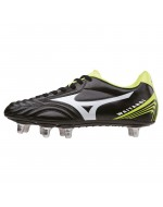 Waitangi CL Rugby Boots (Black/White/Yellow)