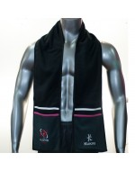 Ulster Rugby Scarf - Charcoal/White/Hot Pink (2015-2016)