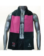 Ulster Rugby Scarf - Charcoal/Hot Pink (2015-2016)