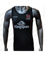 Men's Ulster Rugby Performance Athletic Fit Vest - Black (2018-2019)
