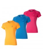 ASICS Short Sleeve Stripe Top