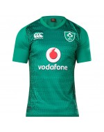 Kids Ireland Vapodri+ PRO Home Rugby Jersey - Bosphorus Green (2018-2019)