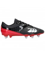 Men's Phoenix Raze SG Rugby Boot (Black/True Red)