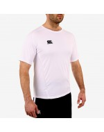 Team Dry Performance Gym Tee Shirt - White