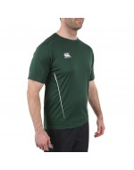 Team Dry Performance Gym Tee Shirt - Green