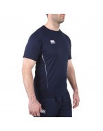 Team Dry Performance Gym Tee Shirt - Navy Blue