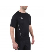 Team Dry Performance Gym Tee Shirt - Black