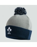 Ireland Rugby Bobble Hat - Grey/Navy (2019-2020)