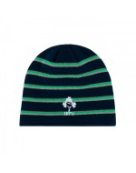 Ireland Rugby Stripe Beanie - Lennel Blue (2019-2020)