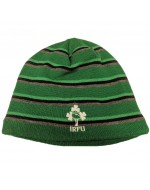 Ireland Rugby Stripe Beanie - Bosphorus Green (2018-2019)