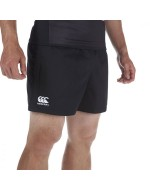 Professional Cotton Rugby Short (Black)