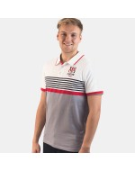 Men's Ulster Rugby Yarn Dye Knit Polo - White (2017-2018)