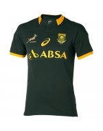 South Africa Springbok Home Fan Rugby Shirt 2014-2016