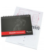 A6 Football Pro Coaches Notepad