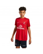 Kid's Ulster Rugby Technical Athletic Fit Tee - Red (2021-2022)