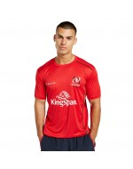 Men's Ulster Rugby Technical Athletic Fit Tee - Red (2021-2022)
