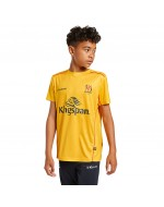 Kid's Ulster Rugby Technical Athletic Fit Tee - Amber (2021-2022)